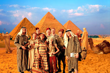 Weasley Family In Egypt